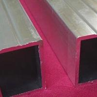 厂家直销6063铝方管 异形铝管定制加工