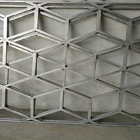 定制仿古木纹铝窗花铝合金方管焊接花格