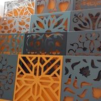 单色氟碳漆雕花铝单板