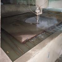超大厚铝板切割 厚铁板切割