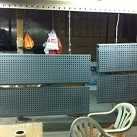 4S店微孔镀锌钢板天花吊顶多少钱一平方米