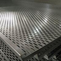 4S店柳叶孔镀锌钢板天花吊顶生产厂家