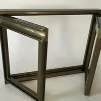 晶钢门边框铝型材批发供应厂家