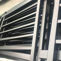 厂家直供铝合金窗花铝窗花复古木纹窗花