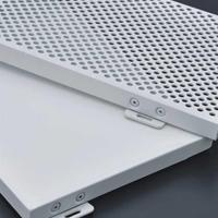 2.0mm材料烤漆铝单板幕墙铝单板装修效果