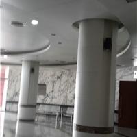 商场圆形包柱铝单板价格酒店圆柱铝单板