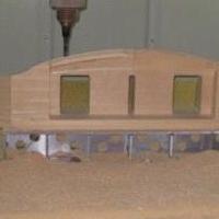 数控铝板雕刻机铝板双曲木模雕刻机供应
