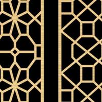 特别定制博物馆中式仿古木纹铝窗花专业厂家