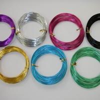 线径0.12mm彩色铝线现货价格