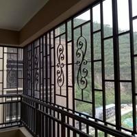 专业生产静电粉末铝窗花实力厂家