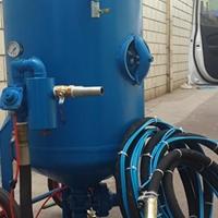 艾航除锈喷砂设备管道专业机除锈喷砂机