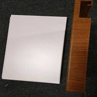 陕西广汽本田4S店吊顶1.5厚木纹色白色单板