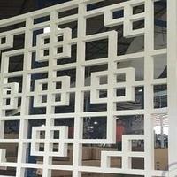 廣東度假屋屏風仿古鋁窗花生產廠家