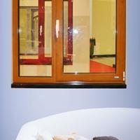 P75高性能鋁木窗