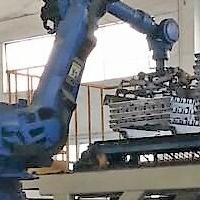 定制铝锭码垛机械人装配
