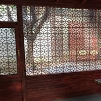 厂家提供古典铝窗花木纹生产材料商