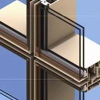 120系列明框幕墙铝型材