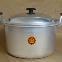 大量供應28cm~56cm洗白胖蓋鍋老式鋁鍋