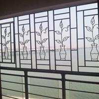 上海别墅拱形铝窗花实力订购