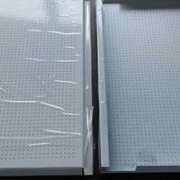 广汽传祺银灰色金属穿孔外墙板生产厂家