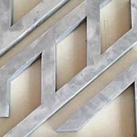 仿古铝合金-冰裂纹铝花格-不规则烧焊窗花