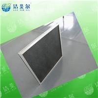 尼龙网初效过滤器_铝合金外框