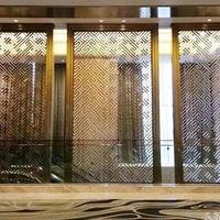 南京商业街道复古式铝窗花个性化定制