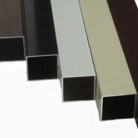 氟碳木纹铝方管厂家 氟碳铝方通厂家 铝方管
