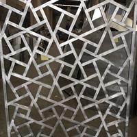 仿古木纹铝合金花格,铝窗花