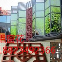 德普龙供应多款仿古风格铝艺铝花格窗