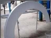 山东电影院弧形铝单板造型规格、尺寸