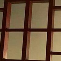 园林铝合金仿古-木色铝花格-防腐铝花格窗