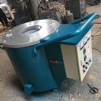 30公斤电阻熔铝炉移动手推式电炉