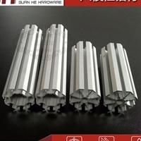 八棱柱标展铝料 展会标摊铝料