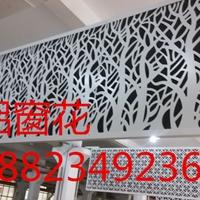 素雅铝窗花装饰-连锁店门头装饰铝窗花