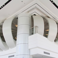外型铝板,弧形铝板、异形铝板