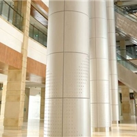 百利建材包柱铝单板异形铝单板