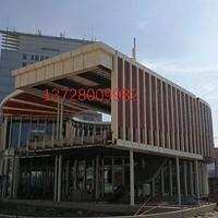 浙江√幕墙造型木纹铝方通☆德普龙