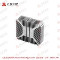 电子散热器铝型材规格定做