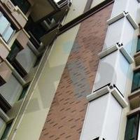 铝合金百叶窗 建筑外遮阳卷帘窗 户外百叶窗