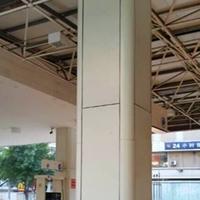 厂家直销甘肃加油站包柱铝圆角型材多少钱