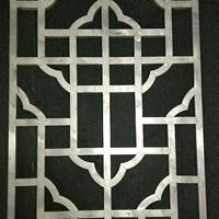 型材焊接木纹铝窗花_广东木纹窗花厂家
