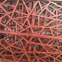 复古仿木纹冰裂纹铝窗花生产厂家