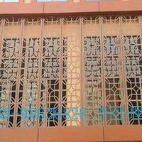 古镇屋檐装饰铝挂落_木纹铝合金窗花
