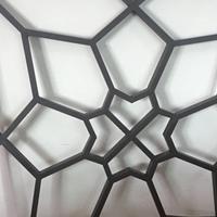 定制各种图案风格铝窗花