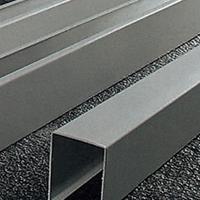 仿木纹U型槽铝方通吊顶天花 型材厂家直销