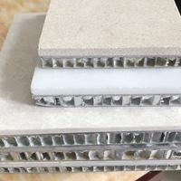 厂家定制理石蜂窝板 石纹蜂窝铝板