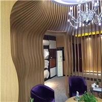 贵州安顺餐馆弧形铝方通装饰