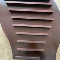酒店門頭吊頂造型鋁方通-弧形鋁方通隔斷