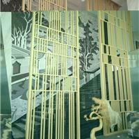 木纹铝隔断_餐厅装饰隔断木纹铝屏风